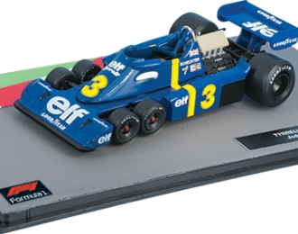 TYRRELL P34  Джоди Шектера (1976), Formula 1 Auto Collection 13