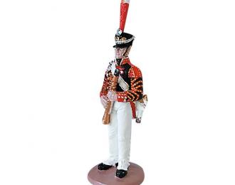 Фигурка Музыкант лейб-гвардии Измайловского полка, 1811