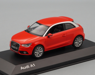 AUDI A1, red