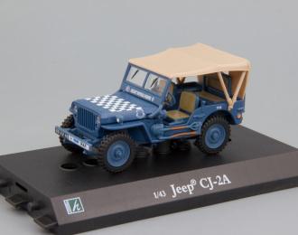 JEEP Willys CJ-2A, blue