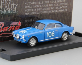 ALFA ROMEO Giulietta Sp. 1T Mille Miglia #106, blue