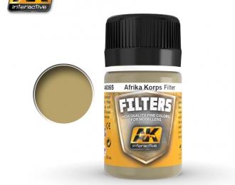 Фильтр для нанесения эффектов AFRIKA KORPS FILTER (африканскийкорпус)