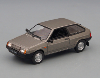 ВАЗ-2108 Спутник 1984-2003 гг., Автолегенды СССР 264, серый металлик