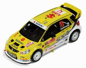 SUZUKI SX4 WRC No.11 Rally Japan T.Gardemeister - T.Tuominen (2008), yellow