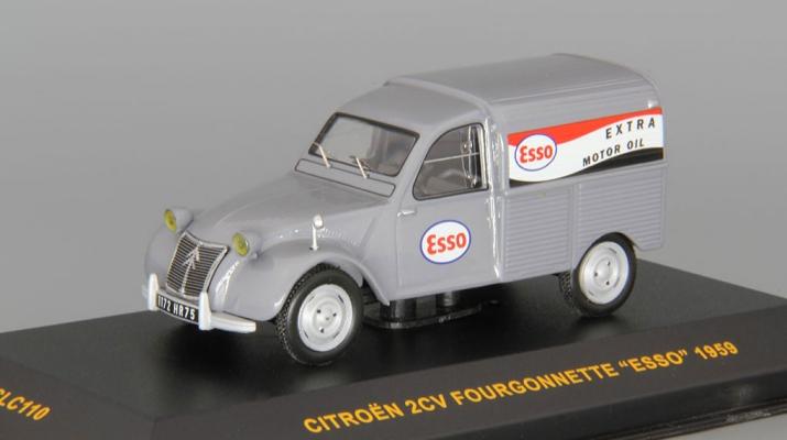 CITROEN 2CV Fourgonette Esso (1959), grey