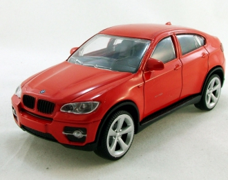 BMW X6, red