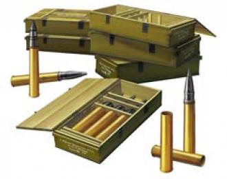 Сборная модель Soviet 76.2mm Ammunition Set
