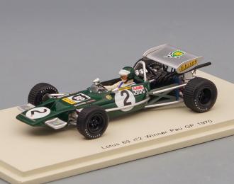 LOTUS 69 #2 Победитель Pau GP 1970 Jochen Rindt, black