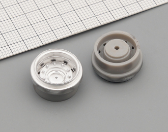 Диск для прицепов 11,75х22,5 (под ступицу BWP, металлизированный), цена за шт.