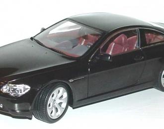 BMW 6er Coupe E63 (2003), saphir schwarz met.