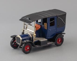 Unic Taxi (1907), blue / black