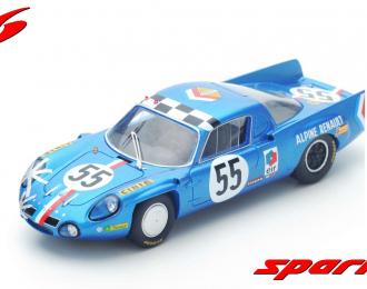 Alpine A210 #55 14th Le Mans 1968 J.-C. Andruet - J.-P. Nicolas