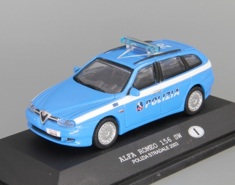 ALFA ROMEO 156 SW Polizia Stradale (2003), blue