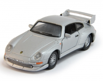 PORSCHE 911 GT2, silver met.