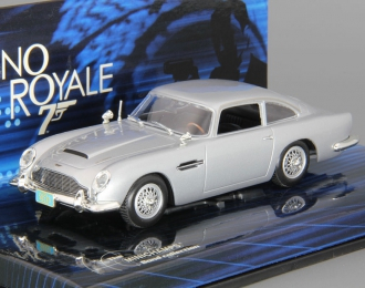 "ASTON MARTIN DB5 James Bond ""Casino Royale"", grey metallic"