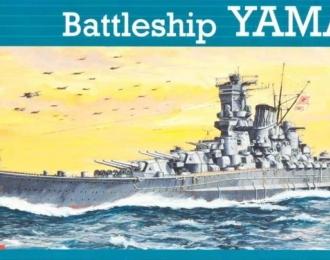 Сборная модель Японский линкор IJN Yamato