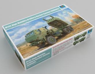 Сборная модель Американская ракетно-артиллерийская система M142 (HIMARS)