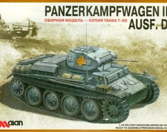 Сборная модель Panzerkampfwagen II Ausf.D