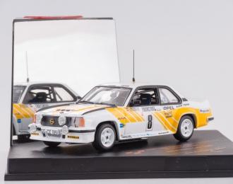 OPEL Ascona 400 #8 J.Kleint - G.Wanger, white / yellow