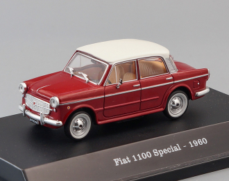 FIAT 1200 Granluce (1957), red / white