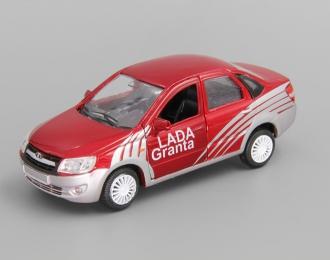 LADA Granta Sport, красный