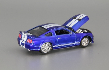 SHELBY GT500 (2007), blue met