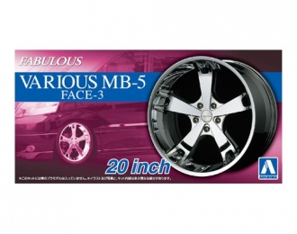 Набор дисков Fabulous Various MB-5 Face-3 20inch