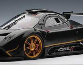 PAGANI Zonda R - carbon fiber pattern 2007, black