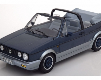 "VOLKSWAGEN Golf I Cabriolet ""Bel Air"" (1992), blue metallic"