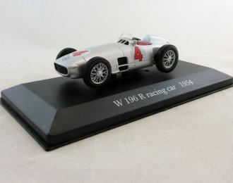 MERCEDES-BENZ W 196 R Racing Car (1954), Mercedes-Benz Offizielle Modell-Sammlung 37, серебристый