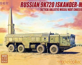 Сборная модель Российский оперативно-тактический ракетный комплекс 9K720 Искандер-М