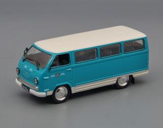 РАФ-977ДМ Маршрутное такси, Такси СССР 2, голубой / белый