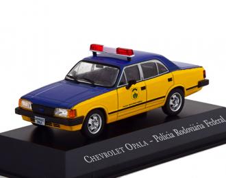 Chevrolet Opala Policia Rodoviaria Federal 1988 Полиция