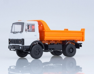 МАЗ-5551 самосвал, серый / оранжевый