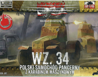 Сборная модель Польский бронеавтомобиль WZ.34