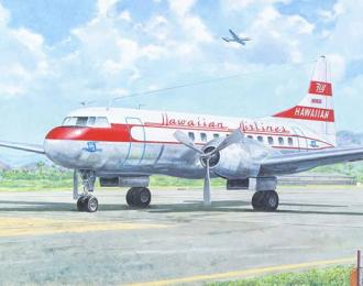 Сборная модель Самолет Convair CV-340