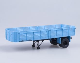 Полуприцеп МАЗ 5215, голубой