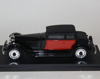 BUGATTI Royale Weymann, black/red