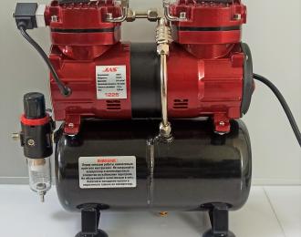 Компрессор 1226, с регулятором давления, автоматика, два режима работы, ресивер, два цилиндра