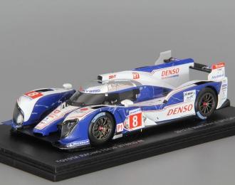 TOYOTA TS030 Hybrid, 8, Le Mans 2012 Anthony Davidson - Sebastien Buemi - Stephane Sarrazi, white / blue