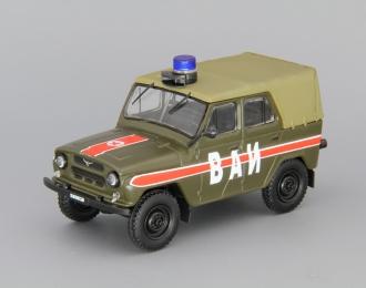 УАЗ 469 ВАИ, Автомобиль на службе 8, хаки