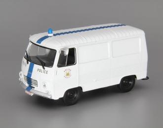 PEUGEOT J7, Полицейские Машины Мира 66, white / blue