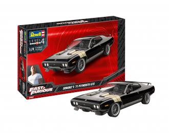 Сборная модель PLYMOUTH GTX Fast & Furious - Dominics 1971