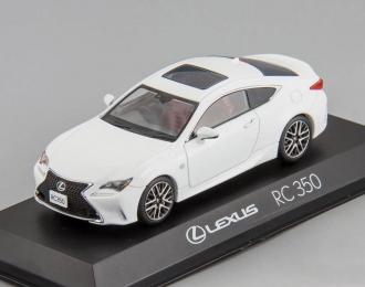 LEXUS RC350 F Sport, white