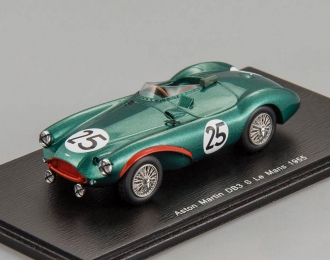 ASTON MARTIN DB3 S #25 Le Mans T. Brooks - J. Riseley Prichard (1955), green
