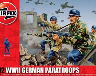 Сборная модель Немецкие парашютисты