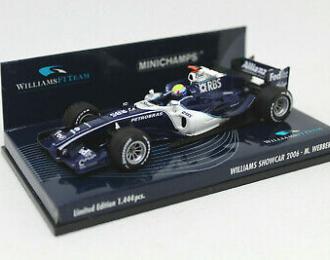 Williams F1 Team Showcar 2006 Season M.Webber