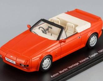 ASTON MARTIN Zagato Vantage Volante (1987), red