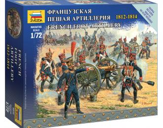 Сборная модель Солдаты Французская пешая артиллерия