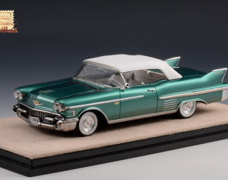 CADILLAC Series 62 Convertible (закрытый) 1958 Laurentian Green Metallic